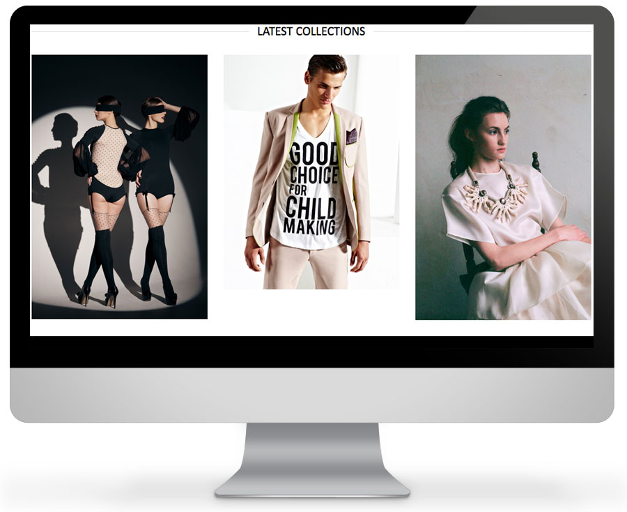 eCommerce fashion web site