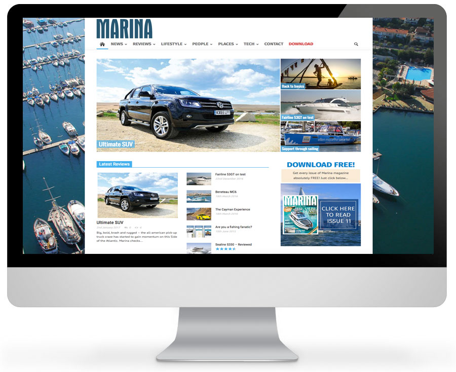 Marina Magazine - The ultimate motorboat and yachting lifestyle magazine